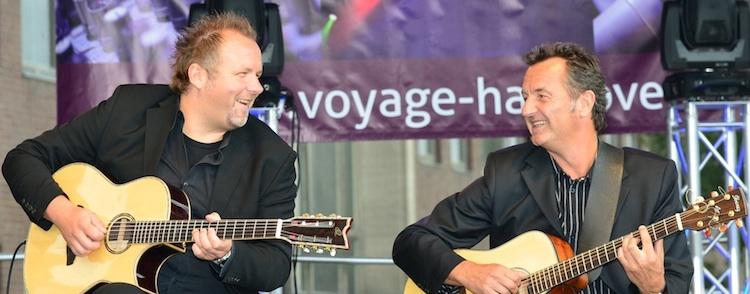 Gitarrenduo Ralf Sommerfeld und Gunnar Hofmann aus Hannover