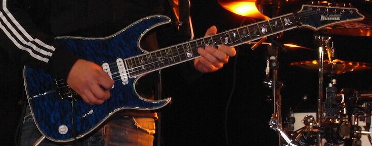 Gitarrist und Musiklehrer Ralf Sommerfeld aus Hannover